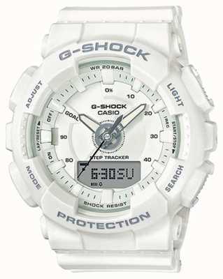 Casio |女性树脂g-shock |白色表带| GMA-S130-7AER