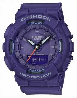 Casio  压缩g-shock  蓝色  GMA-S130VC-2AER