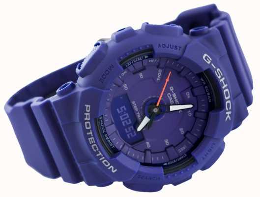 Casio |压缩g-shock |蓝色|男女皆宜| GMA-S130VC-2AER