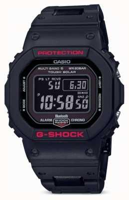 Casio 男士g-shock传承黑色树脂表带数码 GW-B5600HR-1ER