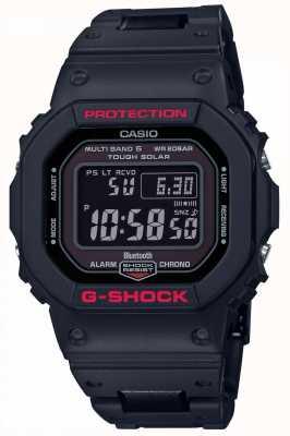 Casio 男士g冲击遗产黑色树脂表带数字 GW-B5600HR-1ER