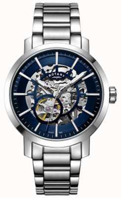 Rotary |男士格林威治骨架|不锈钢手链| GB05350/05