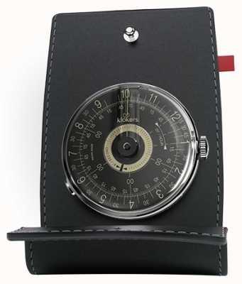 Klokers Klok 08黑色表盘表头和口袋 KLOK-08-D3+KPART-01-C2
