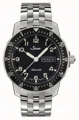 Sinn 104 st sa经典飞行员腕表不锈钢表链 104.011 FINE LINK BRACELET