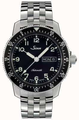 Sinn 104 st sa经典飞行员腕表精细链接钢手链 104.011 FINE LINK BRACELET