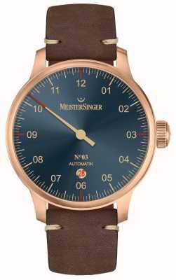 MeisterSinger 青铜线03号深棕色小牛皮 AM917BR