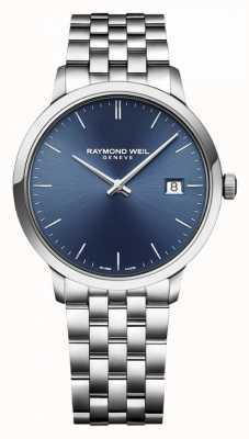 Raymond Weil |男士toccata |经典不锈钢|蓝色表盘| 5485-ST-50001