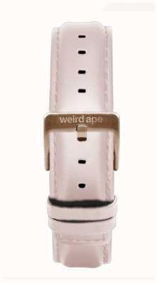 Weird Ape 粉红色皮革16毫米表带玫瑰金搭扣 ST01-000112