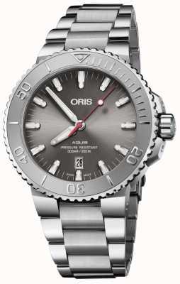 ORIS |日期减免|不锈钢手链|灰色表盘| 01 733 7730 4153-07 8 24 05PEB
