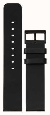 Leff Amsterdam |黑色皮革表带|黑色扣| LT75012-STRAP