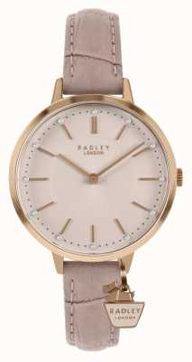 Radley |女式裸色皮带|粉色表盘| RY2802