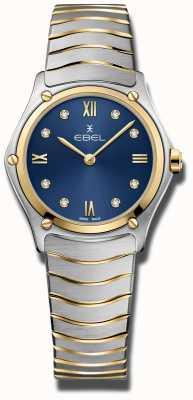 EBEL 女子运动经典|蓝色表盘|不锈钢手链 1216446A