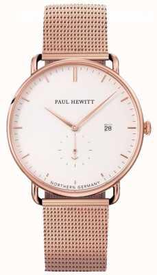 Paul Hewitt Grand atlantic网眼表带 PH-TGA-R-W-4S