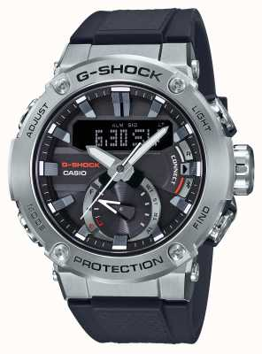 Casio G-steel g-shock蓝牙链接200m wr橡胶表带 GST-B200-1AER