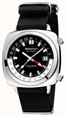 Briston Clubmaster gmt 限量版 |汽车 |黑色北约表带 19842.PS.G.1.NB