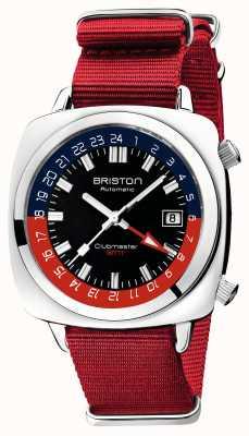 Briston Clubmaster gmt 限量版 |汽车 |红色北约表带 19842.PS.G.P.NR