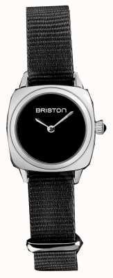 Briston | clubmaster女士|黑色北约表带|黑色表盘| 19924.S.M.1.NB - SINGLESTRAP