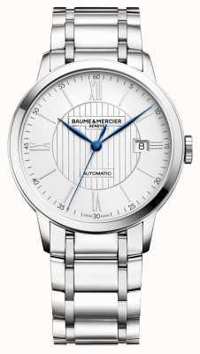 Baume & Mercier |男装|自动|不锈钢|银色表盘 M0A10215