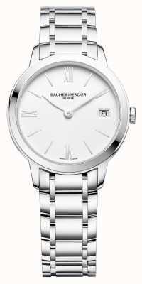 Baume & Mercier |女式|不锈钢手链|白色表盘| M0A10335