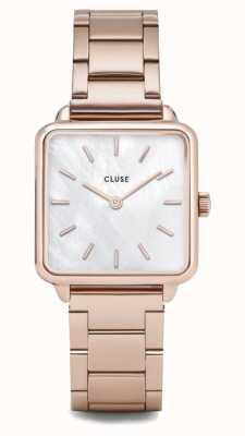 CLUSE | latétragone|三链玫瑰金手链|珍珠表盘 CL60027S
