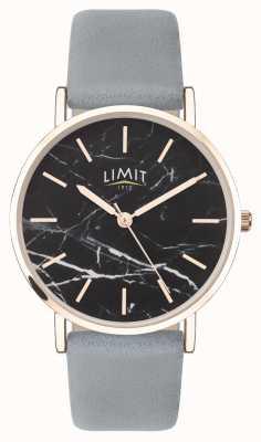 Limit |女性秘密花园|灰色皮革表带|黑色表盘| 60046.73
