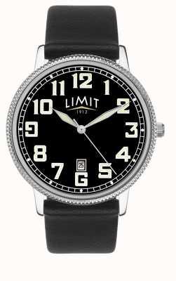 Limit |男士黑色皮表带|黑色表盘| 5747.01