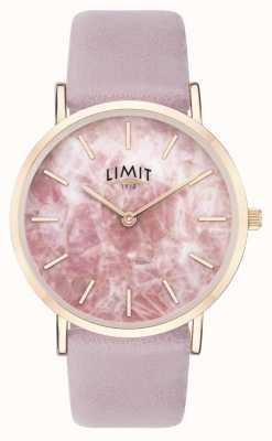 Limit |女性秘密花园|紫色皮革表带|粉色表盘| 60051.73