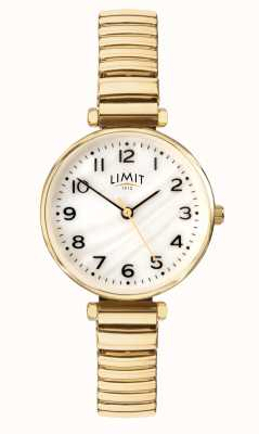 Limit |女士镀金手链|珍珠贝母拨号| 60063.01