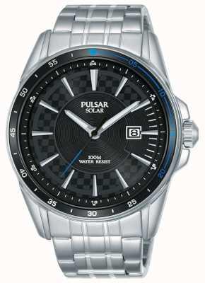Pulsar |加速器运动|不锈钢手链|黑色表盘 PX3203X1