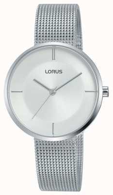 Lorus |女式不锈钢网手链|银色表盘| RG257QX9