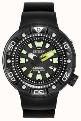 Citizen |男士环保型Promaster潜水员|黑色橡胶表带| BN0175-01E