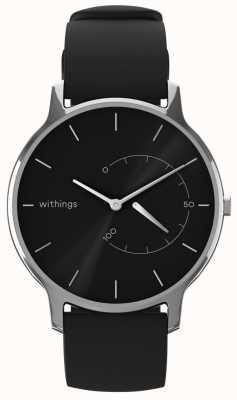 Withings 移动永恒的别致 - 黑色,黑色硅胶 HWA06M-TIMELESS CHIC-MODEL 1-RET-INT