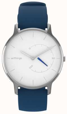 Withings 移动永恒别致-白色,蓝色硅胶 HWA06M-TIMELESS CHIC-MODEL 2-RET-INT