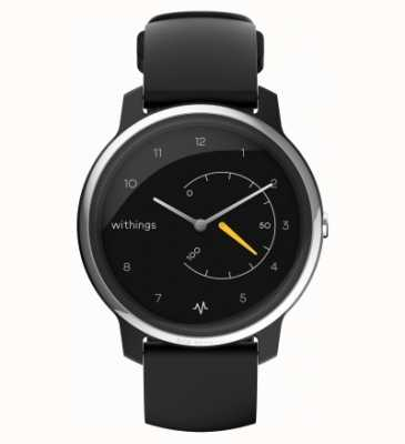 Withings 移动心电图|黑色和黄色|活动追踪器 HWA08-MODEL 1-ALL-INT