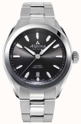 Alpina |男士alpiner |不锈钢手链|灰色表盘 AL-240GS4E6B
