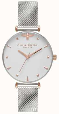 Olivia Burton |女式|蜂王不锈钢网状手链| OB16AM140