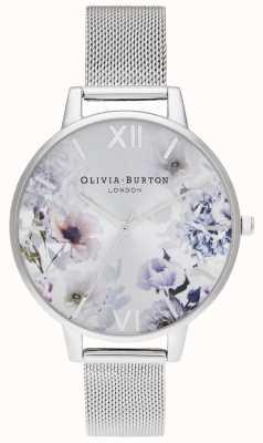 Olivia Burton |女士|阳光花香|钢网手链| OB16EG117