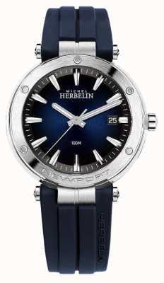 Michel Herbelin |男士|纽波特|蓝色表盘|橡胶| 12288/15CB