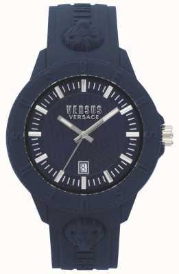 Versus Versace |女士|东京r |蓝色硅胶| VSPOY2118