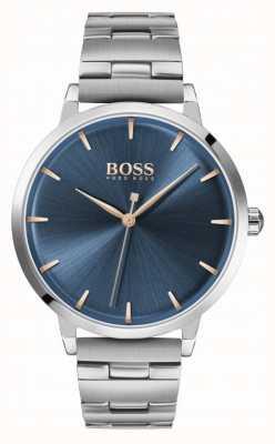Boss |女子码头|不锈钢手链|蓝色表盘| 1502501