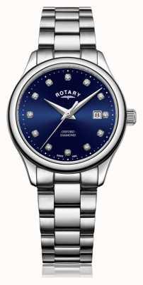 Rotary |女士牛津|不锈钢|蓝色阳光表盘| LB05092/05/D
