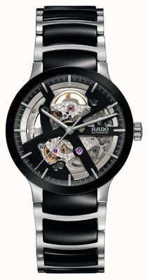 Rado Centrix敞开心heart自动黑色陶瓷腕表 R30178152