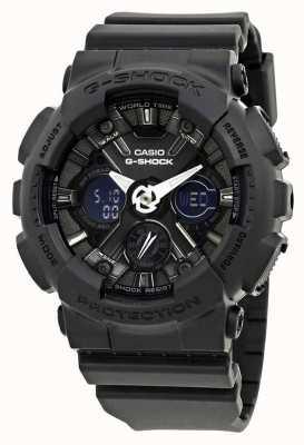 Casio   g-shock   s系列 黑色树脂  GMA-S120MF-1AER