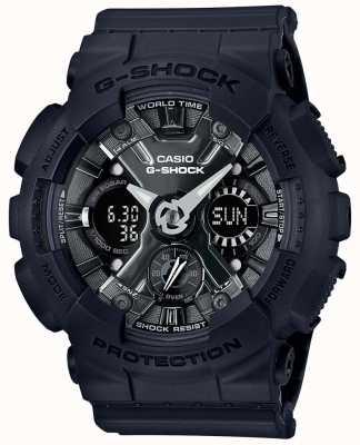 Casio | g-shock | s系列|黑色树脂| GMA-S120MF-1AER