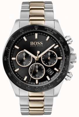 Boss |男士|英雄运动lux |双色手链|黑色表盘| 1513757