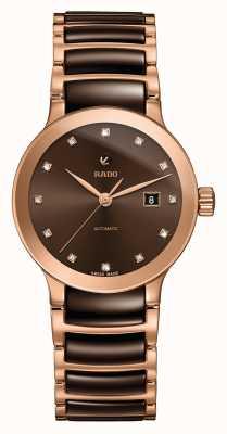 Rado Centrix自动镶钻陶瓷手链表 R30183752