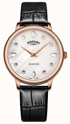 Rotary |女性的肯辛顿|珍珠施华洛世奇表盘 LS05174/41