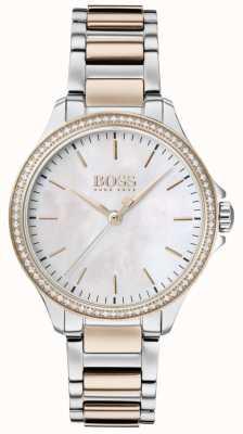 Boss |钻石给她|双色手链|珍珠母 1502524