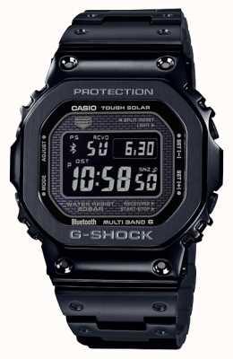 Casio | g-shock全金属|坚韧的太阳能|数字表盘|黑色 GMW-B5000GD-1ER