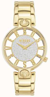 Versus Versace |女士的kirstenhof |镀金手链|闪光表盘 VSP491419